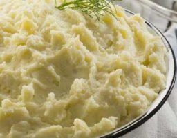 Puré de patata con mostaza