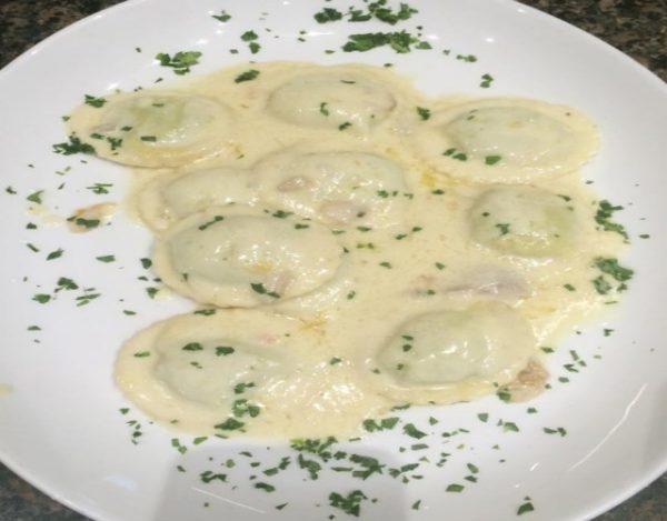 Receta de Ravioles cuatro quesos