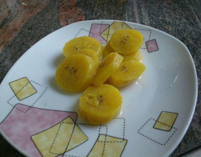 Receta de Puré de plátano maduro