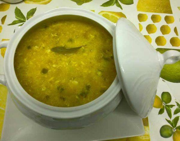Sopa de pimiento verde