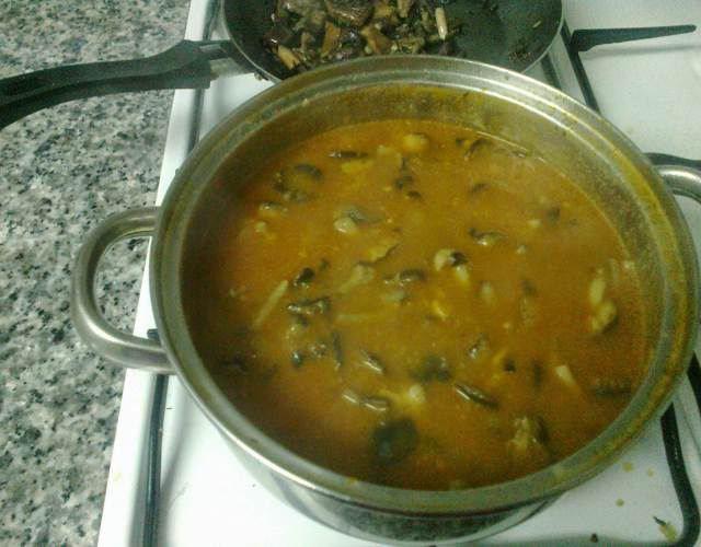 Receta de Sopa de fredolics