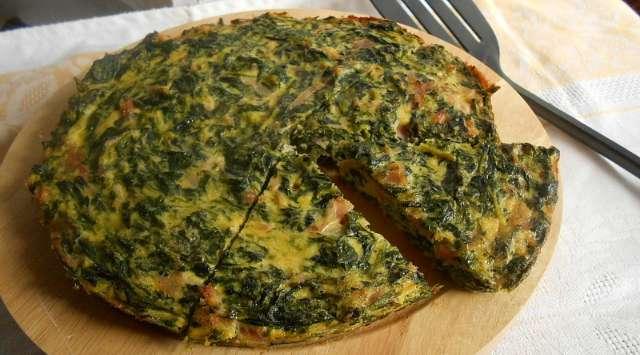 Tortilla de Acelgas y Atún