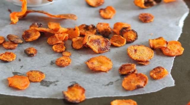 Chips de Zanahoria al Horno