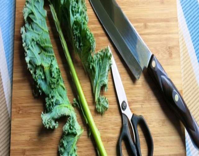 Receta de Chips de Kale