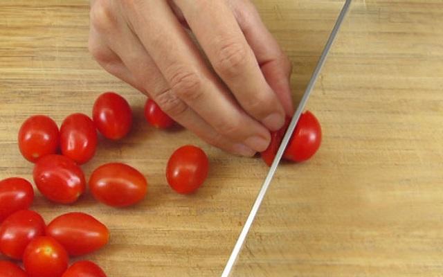 Ensalada de berros con tomate