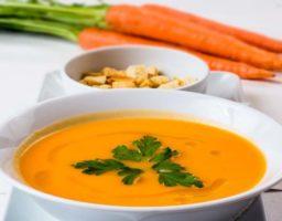 Receta de Sopa de calabaza y zanahoria