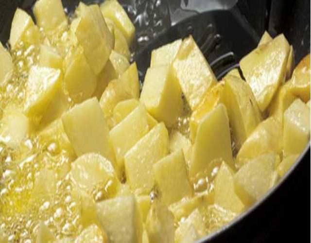 Recxeta de Tortillas de patatas con gambas
