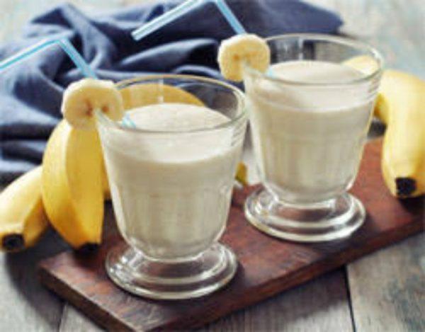 Receta de Smoothie de plátano y yogur