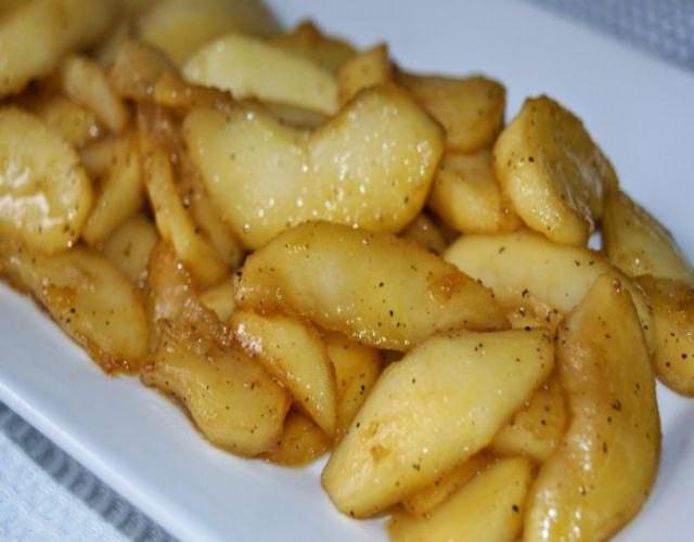 Receta de Codornices con manzanas