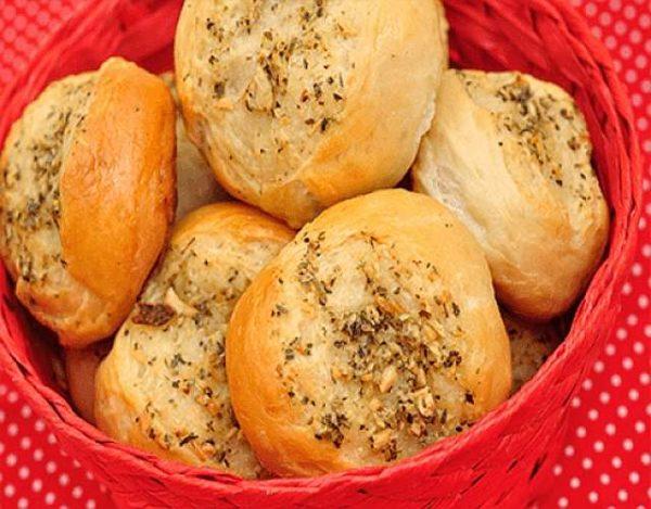 Pan a las finas hierbas