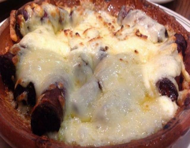 Receta de Chistorra con queso