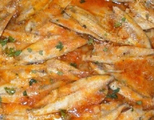Sardinas en cazuela