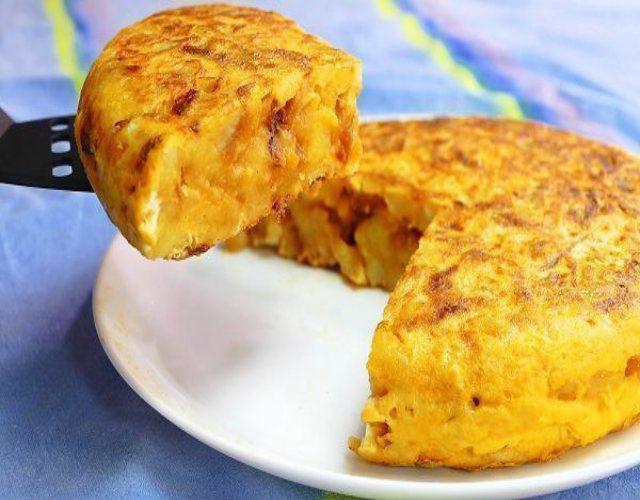Receta de Tortillas de patatas con cebolla caramelizada
