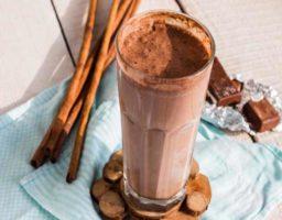 Smoothie de chocolate y cafe