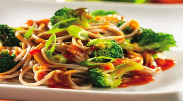 Tallarines con Salsa de Brócoli