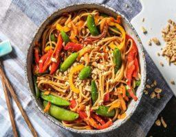 Noodles Vegetarianos