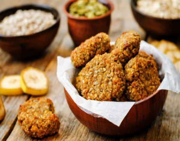 Receta de Galletas de avena sin gluten y sin lactosa