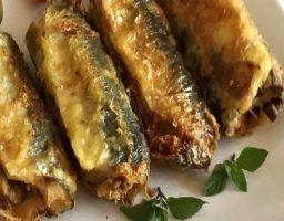 Sardinas rellenas de queso