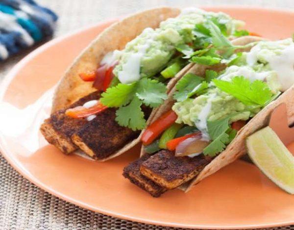 Fajitas de Verduras y Tofu