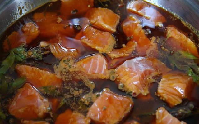 Escabeche de salmón