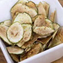 Chips de pepino